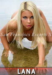 Lana is one of the Berkeley escorts who loves being on all fours